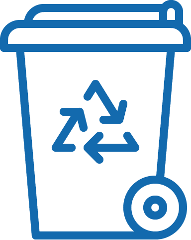 Trash Cart Request Icon to PDF